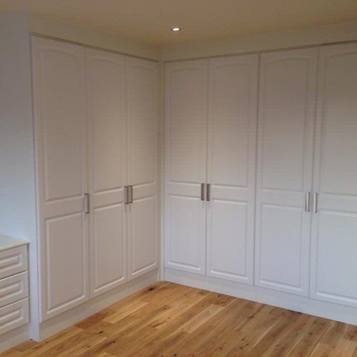 Fitted Bedroom Super White Ash