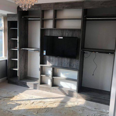 Passidina Grey Wood Fitted Bedroom