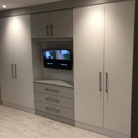 Modern Two Tone Fitted Wardrobes
